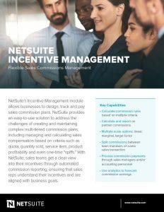 NetSuite-Incentive-Management
