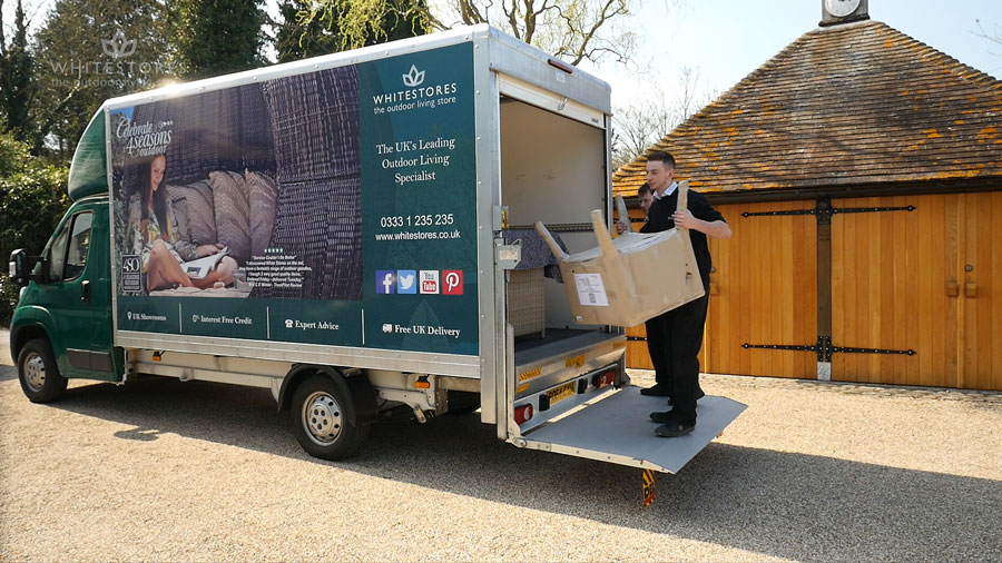 white-stores-garden-furniture-delivery-van